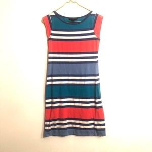 [French Connection] Colorful Striped Dress -Size 4